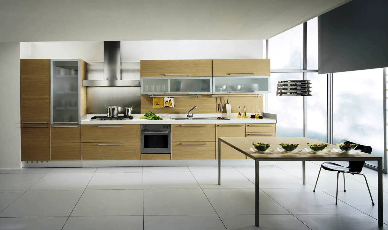 Galleries for Contemporary style kitchen cabinets